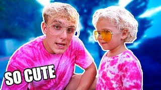 MEETING THE MINI JAKE PAUL?!