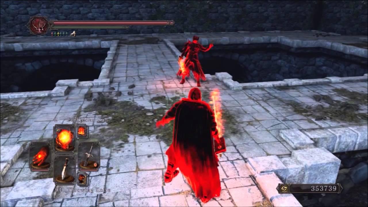 Dark Souls  Pyromancer Pvp Build