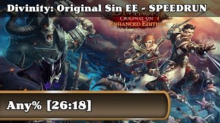 Speedrun - Divinity: Original Sin Enhanced Edition / Any% (26:18)