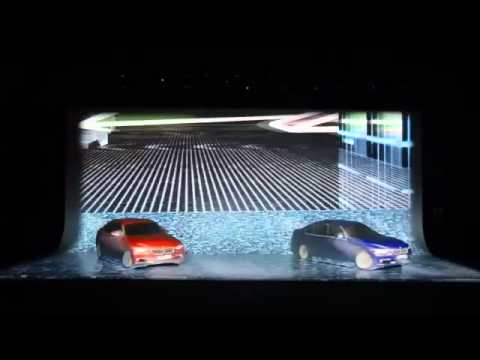 BMW 3 Series Launch Projection Mapping .:. Experiential Design Lab