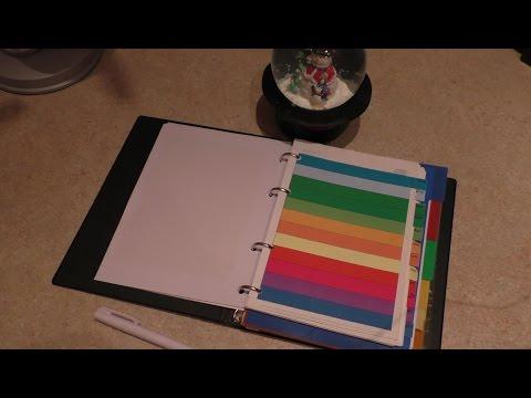 Ежедневник на стол своими руками