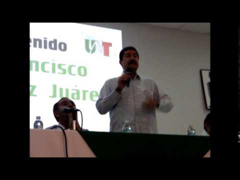 Javier Corral con el Sindicato en Chihuahua de Telefonistas de México