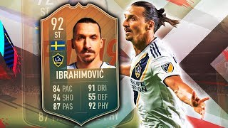 FLASHBACK IBRAHIMOVIC 92! IS HE AS GOOD AS FIFA 14 TOTY IBRAHIMOVIC? FIFA 19 ULTIMATE TEAM