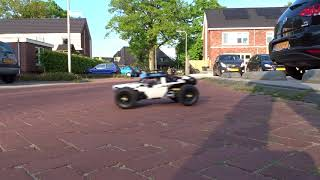 [WIP] LEGO Technic 4WD RC buggy - Full build test drive