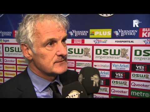Fred Rutten na afloop van Excelsior - Feyenoord
