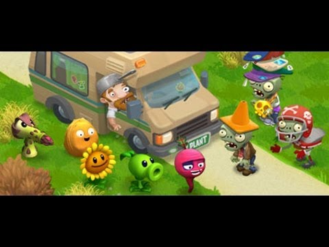 Lets Play | Plants vs Zombies Adventures | Review