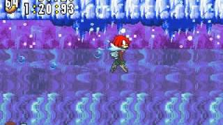 Sonic Advance - Stage 4 Act 2 - Ice Mountain Zone