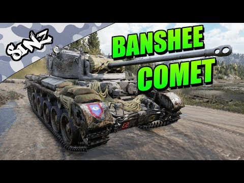 BANSHEE COMET - World of Tanks Console | Tank Review