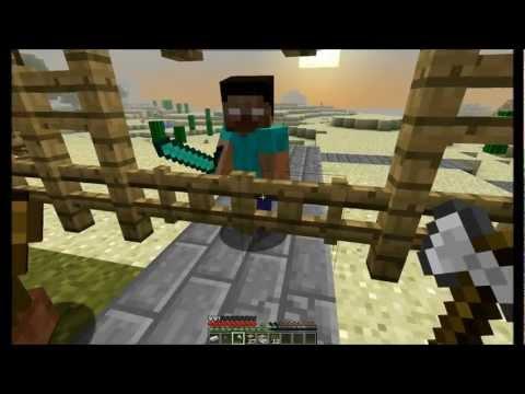 Minecraft сериал Потерянные. Серия 2. Herobrine