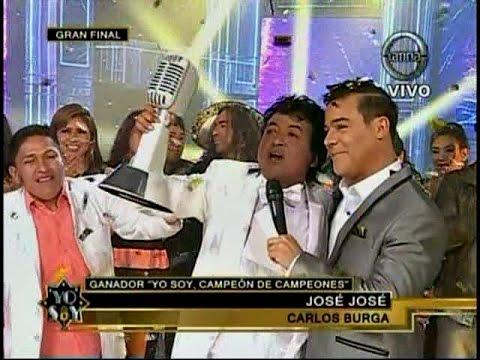 YO SOY 22 09 14 JOSE JOSE ES EL GANADOR DE YO SOY CAMPEON DE CAMPEONES
