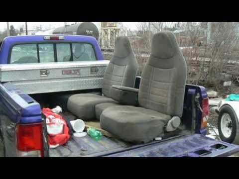 Ford Ranger Gets New Seats