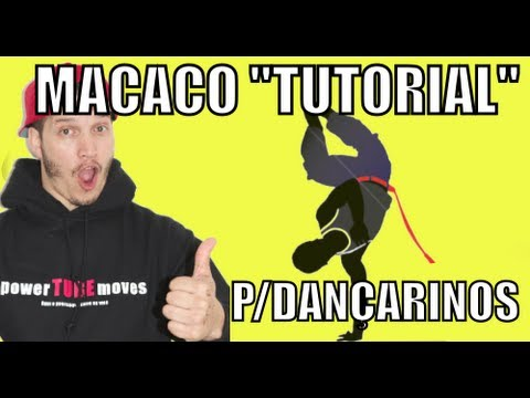 Macaco Da Capoeira Para Bboys Tutorial detalhado video