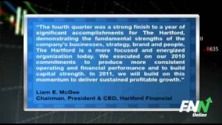 10 May 2010 The Hartford Financial Group visits the NYSE and rings the NYSE Opening Bell