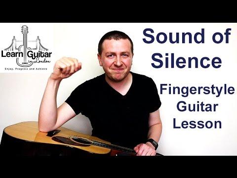 Simon & Garfunkel - Sound Of Silence - Fingerstyle Guitar Lesson - FREE TAB - Drue James