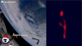 Coverup Of Glowing Red UFOs Above Earth 12/18/16
