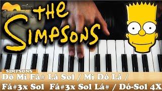 download musica Aula Teclado 1 - Tema dos Simpsons Muito Fácil para iniciantes
