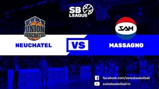 SB League - Day 14: NEUCHATEL vs MASSAGNO