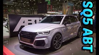 Audi SQ5 The SUV for ABT Sportsline Tuning