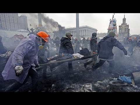 Dead and wounded everywhere in Ukraine's battle zone capital