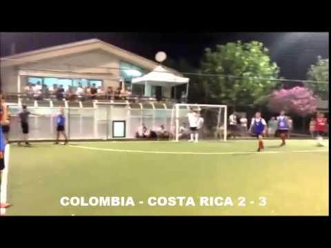 SINTESI OTTAVI COPPA AMERICA COLOMBIA COSTA RICA