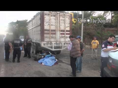 Un hombre muerto tras estrellar su motocicleta contra camión cañero ...