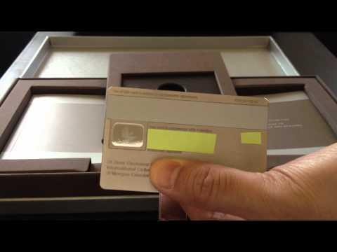 J.P. Morgan Chase Palladium Credit Card Unboxing Review (Palladium and White Gold not CENTURION)