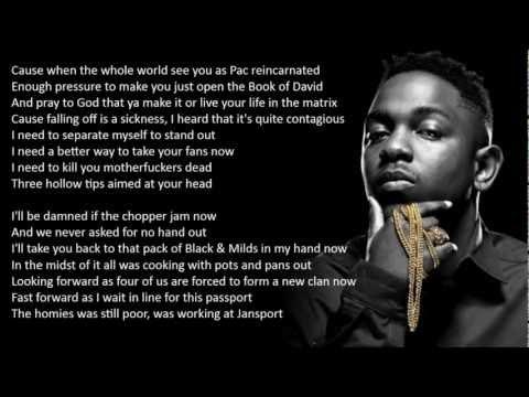 Kendrick Lamar - The Heart Part 3 (HD Lyrics)