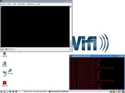 Demostración clave WEP en menos de 3 min con Wifiway y chipset Realtek 8187L