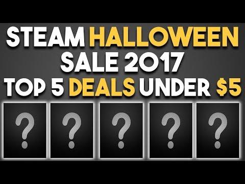 Steam Halloween Sale 2017 - Top 5 Game Deals Under $5