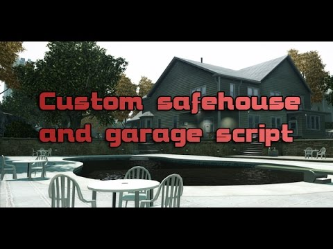 Custom Safehouse and Garage Script v1.1
