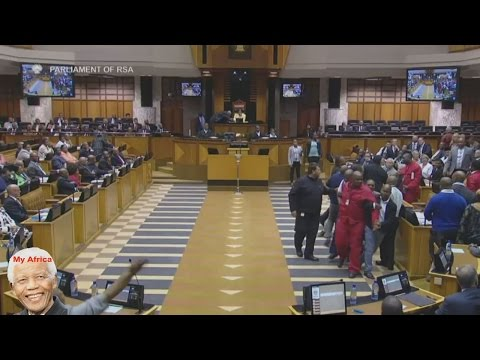 EFF Forcefully Removed From Parliament AGAIN!