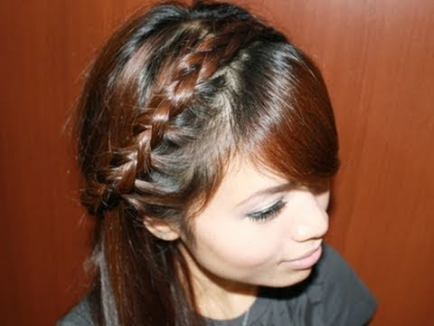 Half Dutch Braid Headband Hair Tutorial