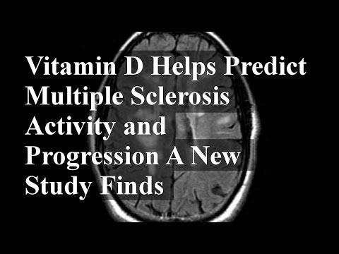 Vitamin D Helps Predict Multiple Sclerosis Activity and Progression A New Study Finds