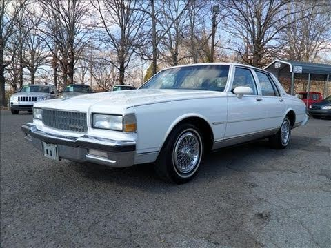 1990 Chevy Silverado For Sale 1990 Chevrolet Caprice Classic Start Up, Exhaust, and In ...