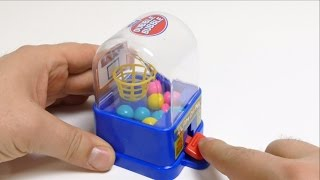 SLAM DUNK Dubble Bubble Mini Gumball Machine Toy