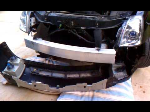 Cadillac Sts Headlight Bulb Replacement Youtube