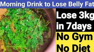 7 நாட்களில் தொப்பையை குறைக்க முருங்கை டீ - Weight Loss Tea in Tamil/How to Lose Belly Fat in Tamil