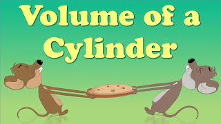 Volume of a Cylinder | #aumsum #kids #education #science #learn