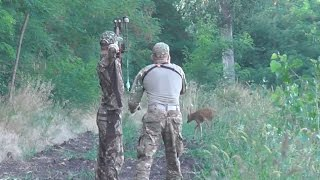 WILD Jaeger Hungarian Roe Deer Rut Bow Hunt (Lucas Mills), Season 5
