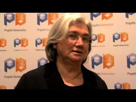 intervista Rosy Bindi 17 novembre 2012