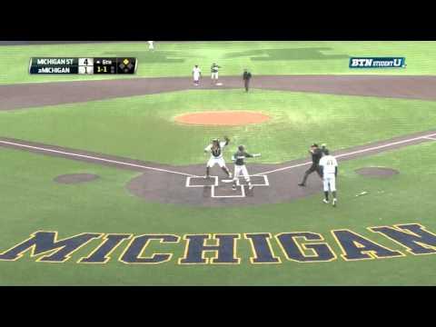 Michigan State at Michigan - Baseball Highlights