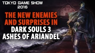 Dark Souls 3: Ashes Of Ariandel's New Enemies And Surprises