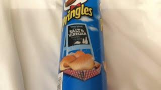 (Unboxing)——salt and vinegar chip! (Pringles)