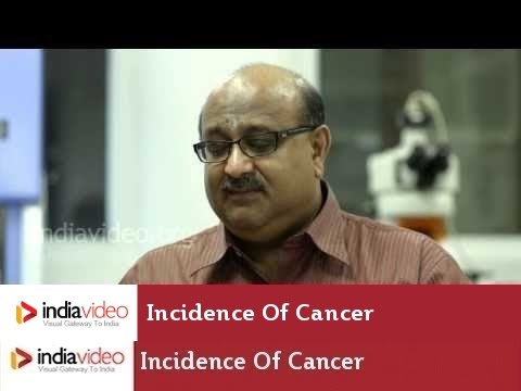 Incidence Of Cancer In India | India Video