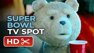 Video clip Ted 2 Official Super Bowl TV Spot (2015) - Mark Wahlberg Sequel HD