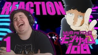 Mob Psycho 100 - Episode 1 [SUB] REACTION