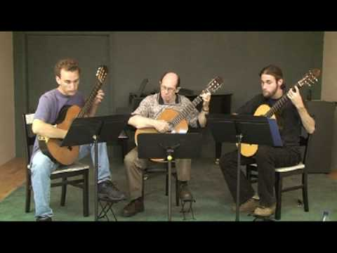 Summer Practice with Classical Guitar Trio Part II