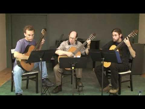 Summer Practice with Classical Guitar Trio Part II