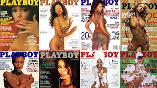 Melanin Magic: 9 Black Women Who Slayed The Cover Of 'Playboy'