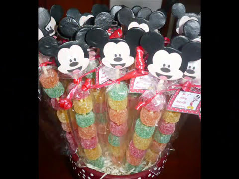 Decoracion infantil con Mickey Mouse
